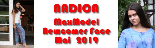 Das MaxModel Newcomer Face